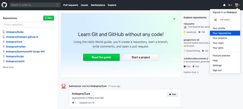 Github注册页面