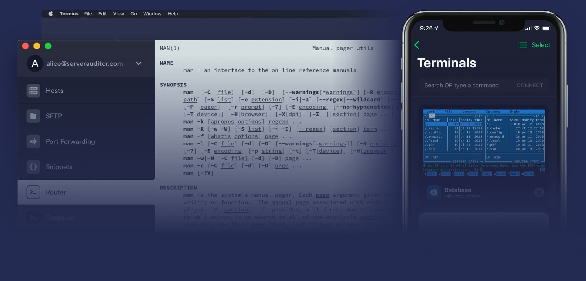 Termius is the SSH client that works on Desktop and Mobile.jpeg