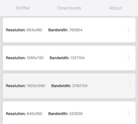 HLS Downloader