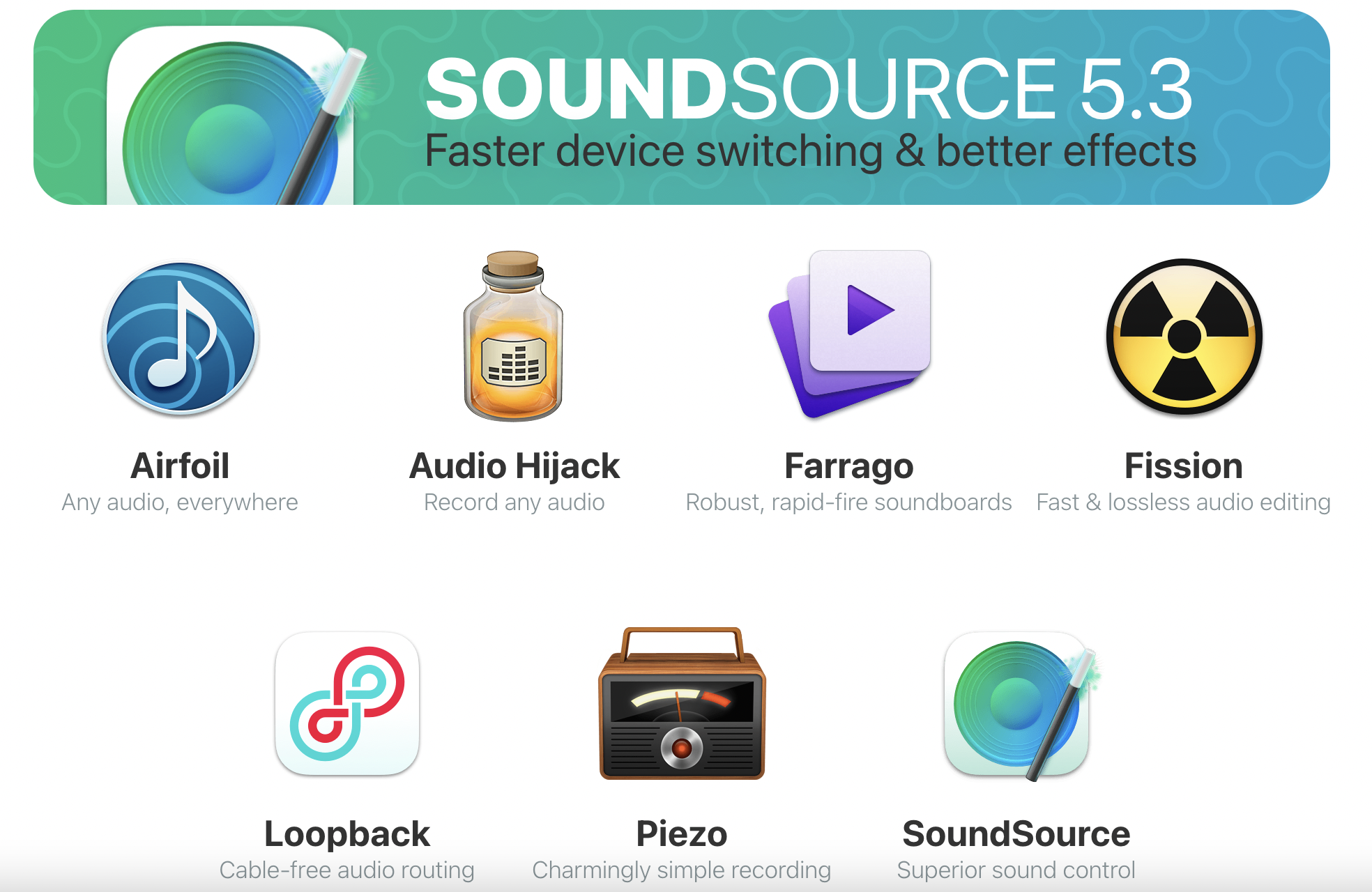 macOS 音频内录解决方案-rogueamoeba.com